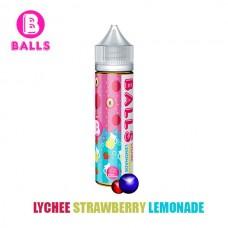Жидкости Balls 60мл Lychee Strawberry Lemonade 0мг.
