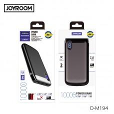 Внешний аккумулятор JoyRoom D-M194 Gezhi micro+Type-C 10000mAh